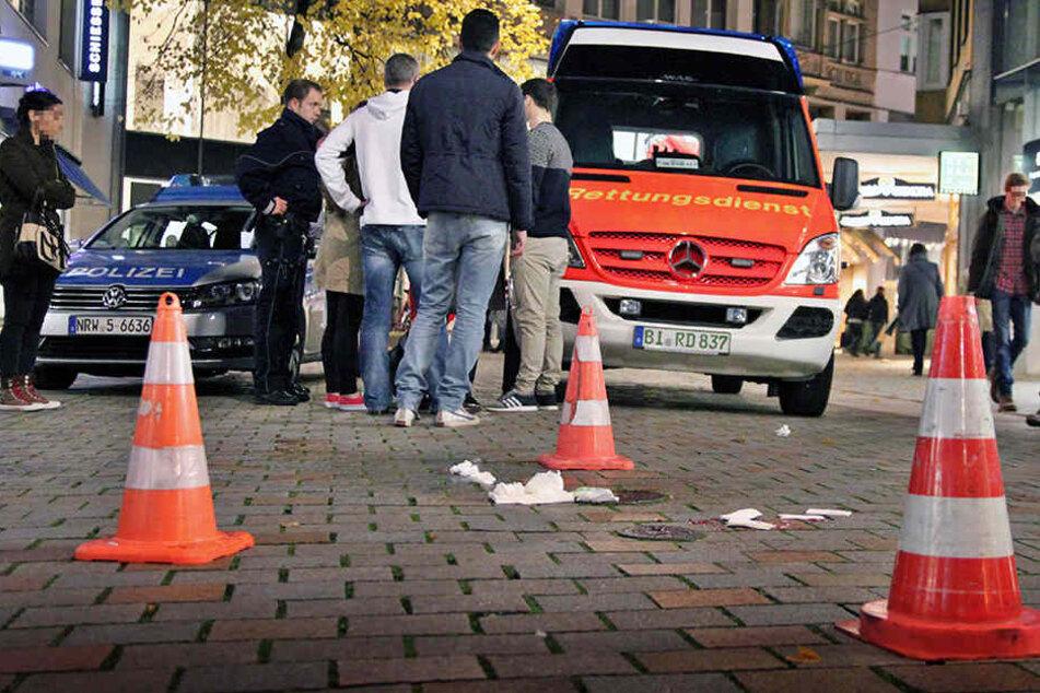 In der Niedernstraße kam es zu der folgenreichen Attacke des 40-Jährigen.