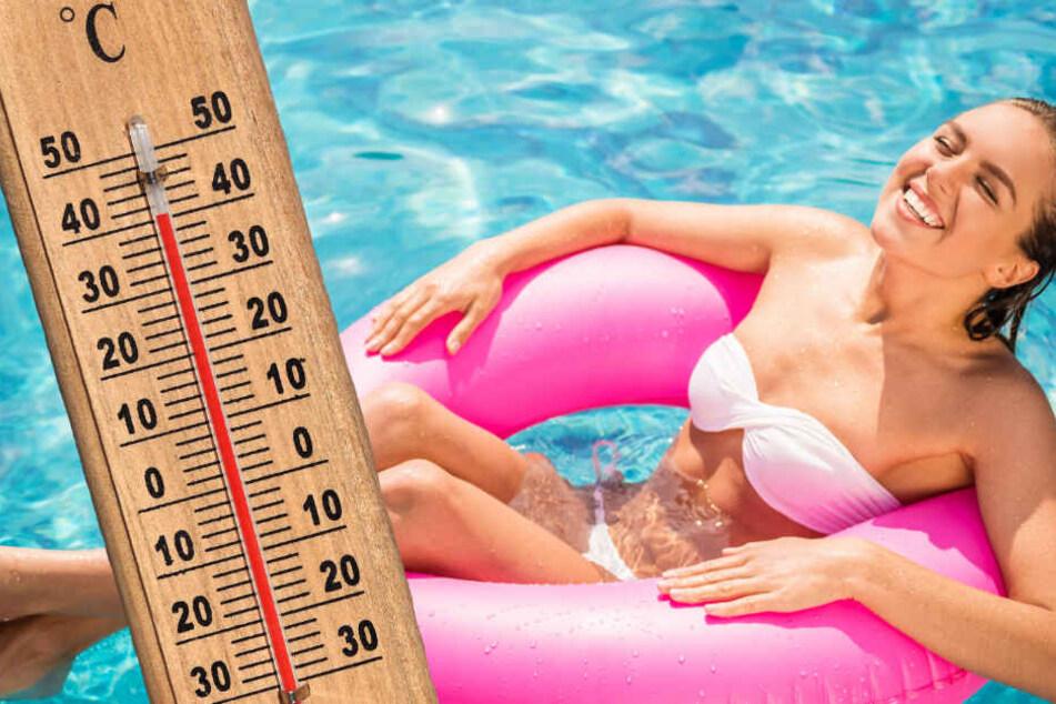 Mega-Hitze in Frankfurt: Die Schwimmbäder sind vorbereitet