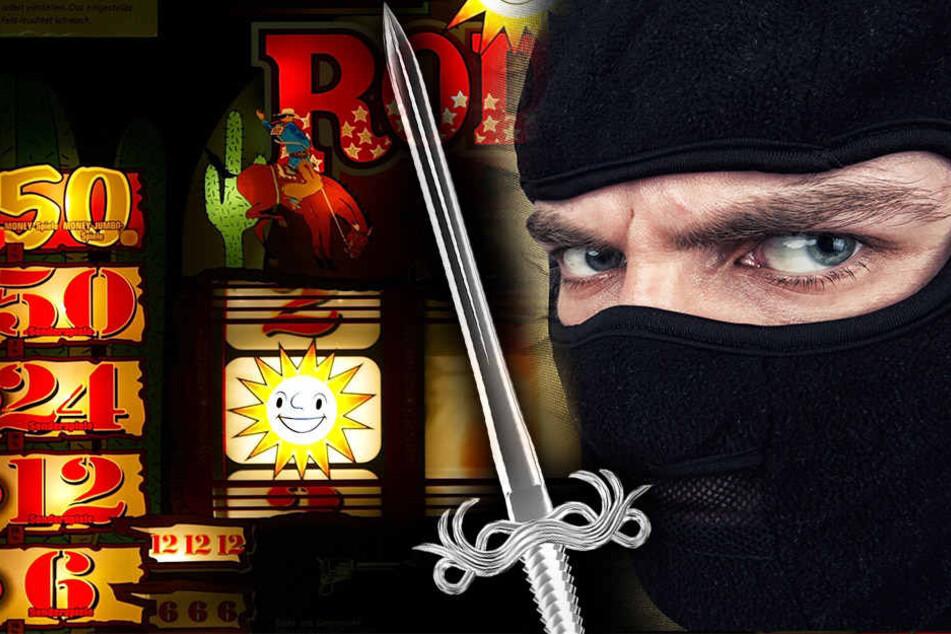 Mit einem Schwert als Waffe überfiel ein unbekannter Mann die Spielothek in Rüthen. (Symbolbild)