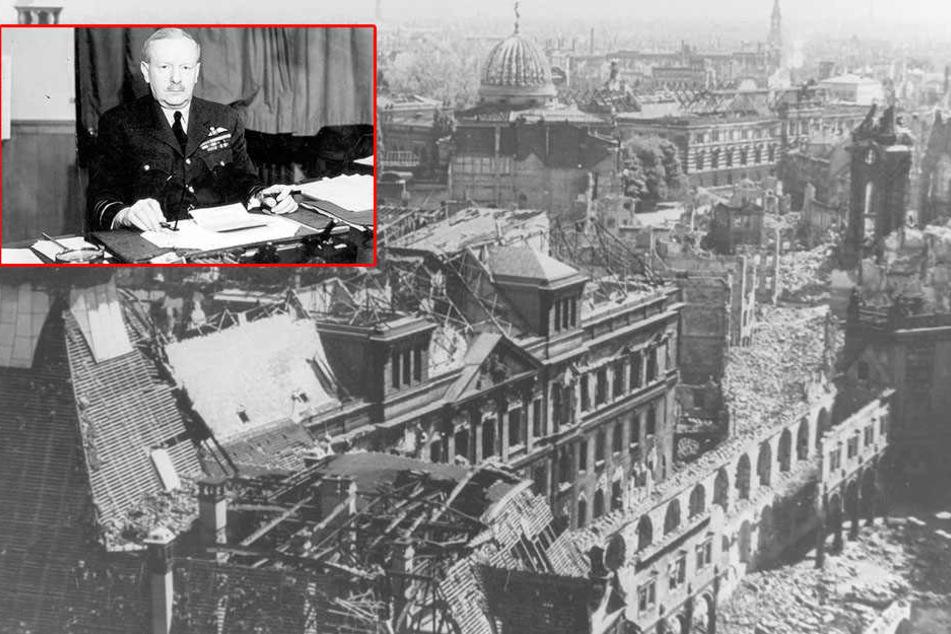 Er befahl die Bombardierung Dresdens