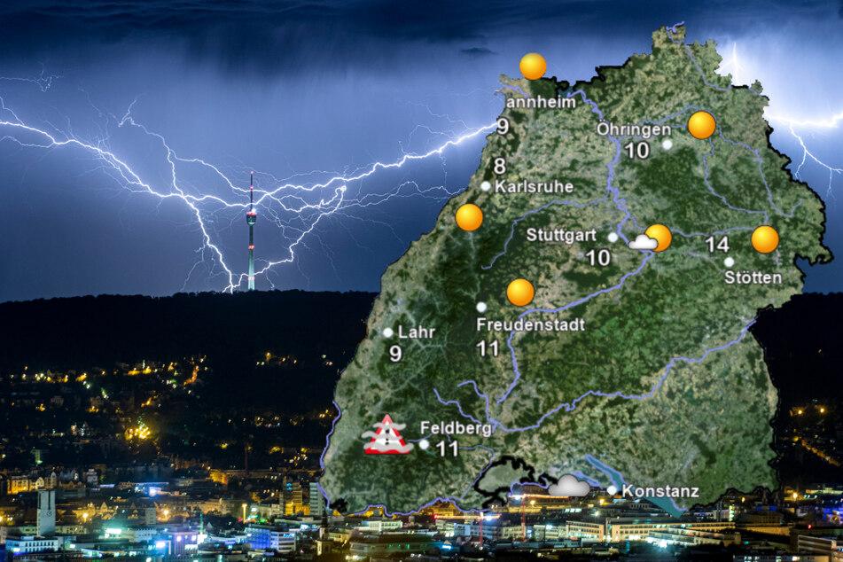 Gewitter, Starkregen: Jetzt wird's im Südwesten ungemütlich!