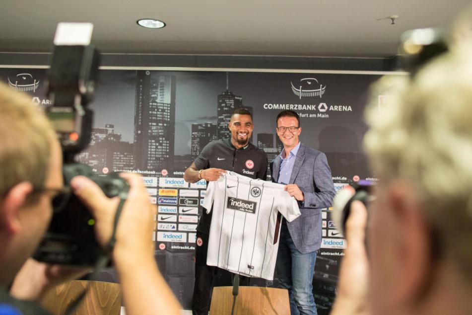Mit Kevin-Prince Boateng angelte sich die Eintracht bereits einen Star.