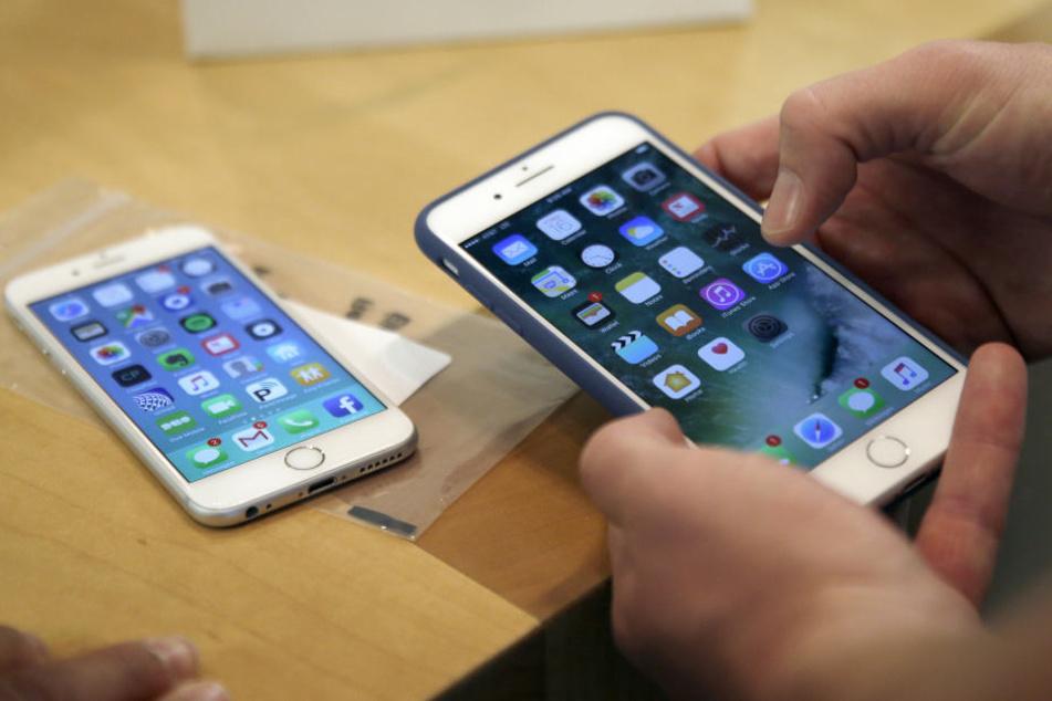 Das iPhone 6 ist von der Sicherheitslücke betroffen. (Symbolbild)