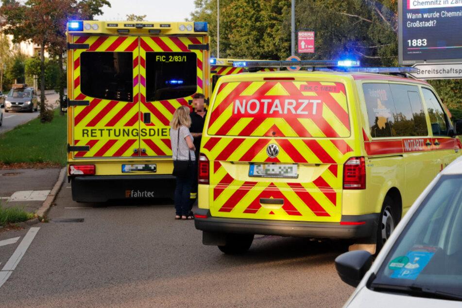 Chemnitz: Fußgänger wird von Auto erfasst und durch die Luft geschleudert