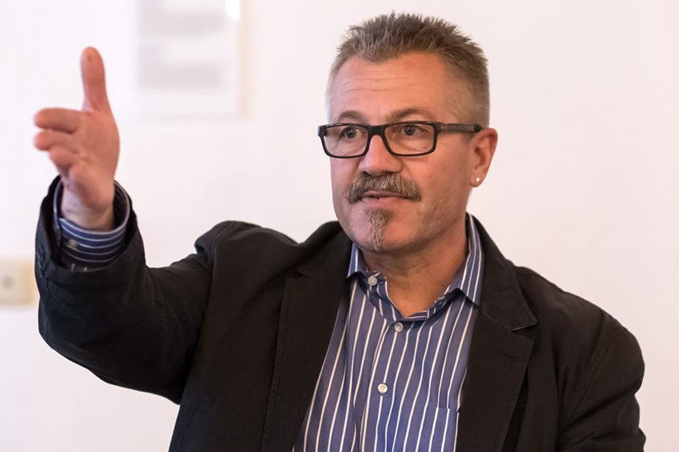 Er freut sich über wieder steigende Blitzereinnahmen: Ordnungsbürgermeister Miko Runkel (58).