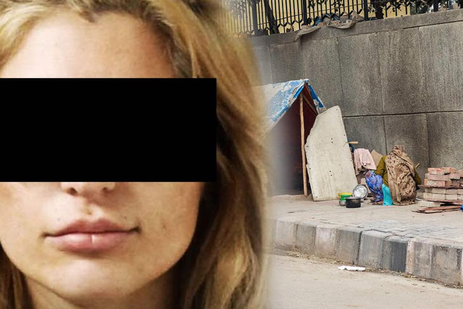 Unfassbar! Sie erschießt Obdachlosen und geht dann essen