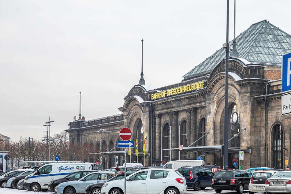 Im Bahnhof Neustadt eskalierte eine Kontrolle der Bundespolizei.