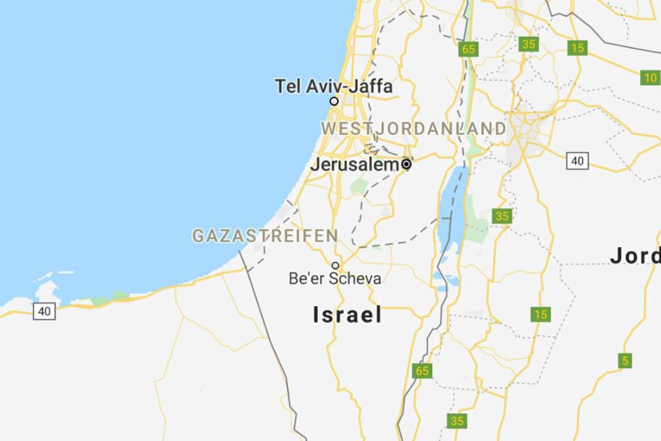 Google Maps löscht Palästina von seiner Landkarte