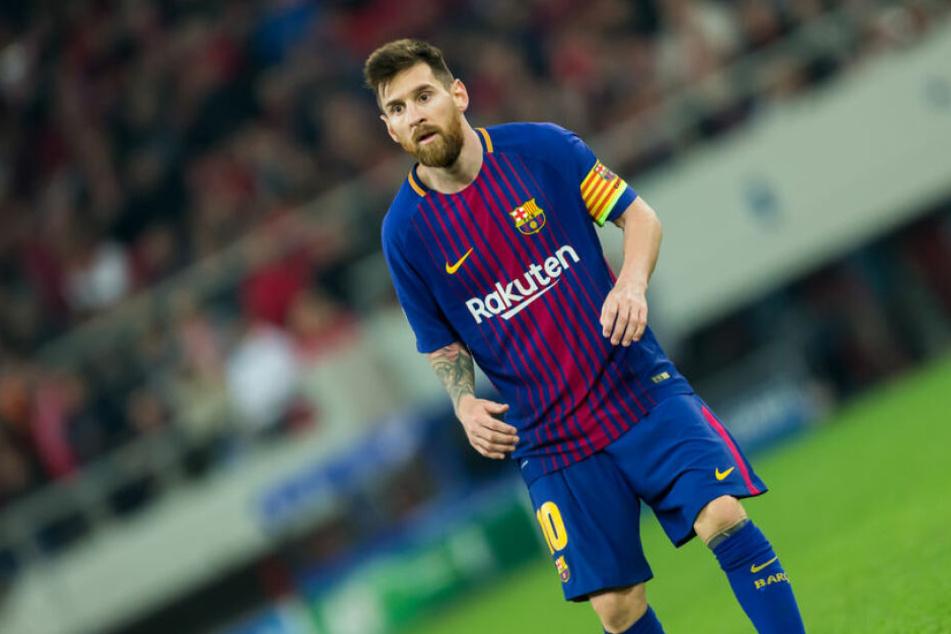 Lionel Messi wurde zum Sportler des Jahres gekürt.