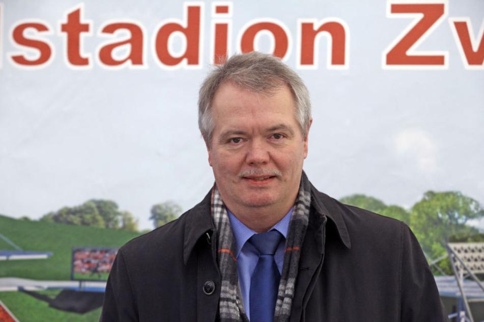 SZB-Geschäftsführer Rainer Kallweit zeigt sich durchaus gesprächsbereit, wenn es um einen Umzug des CFC nach Zwickau geht.
