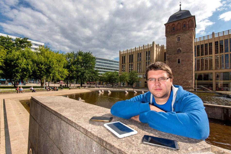 Ausbau kommt kaum voran: Streit um City-WLAN in Chemnitz