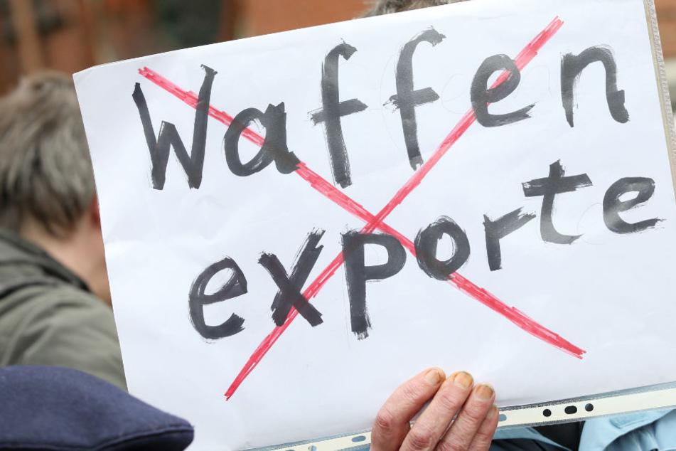 Friedlicher Protest gegen deutsche Waffenexporte führt Aktivisten quer durch Deutschland. (Symbolbild)