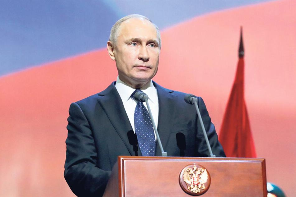 Dominanter Drache: Russlands Präsident Wladimir Putin (66) wurde am 7. Oktober 1952 geboren.