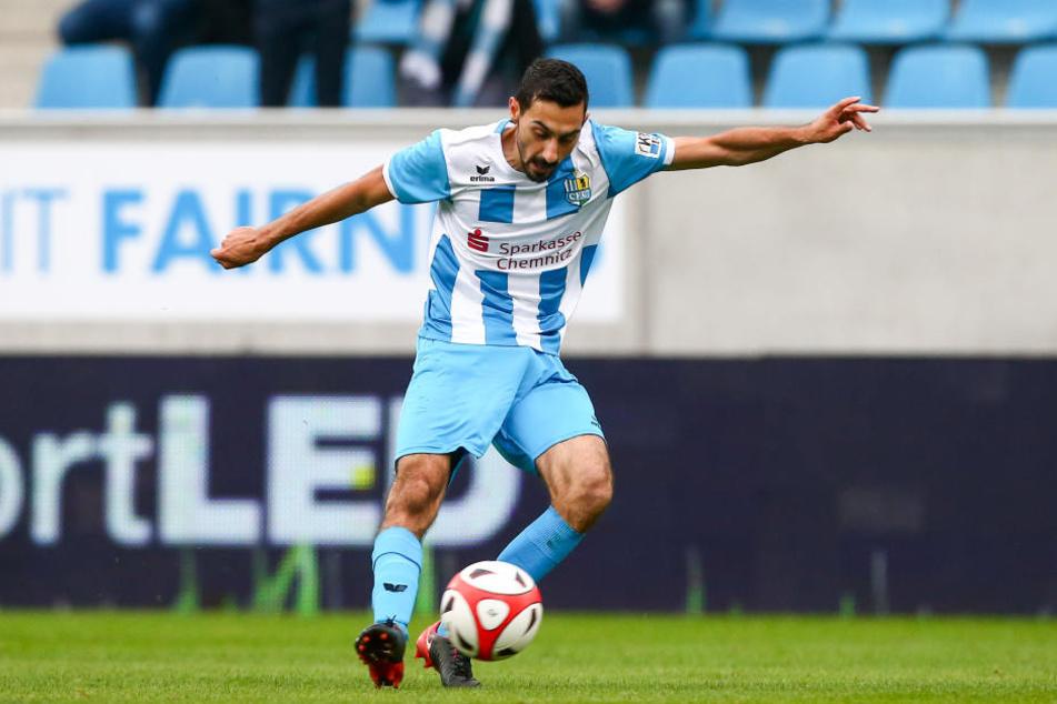 Rafael Garcia kam im Sommer aus Oberhausen. Der Deutsch-Spanier schlug sofort ein. Nur eine Partie hat der 25-Jährige verpasst - wegen einer Gelbsperre. Seine Bilanz: zwölf Vorlagen, ein Tor.