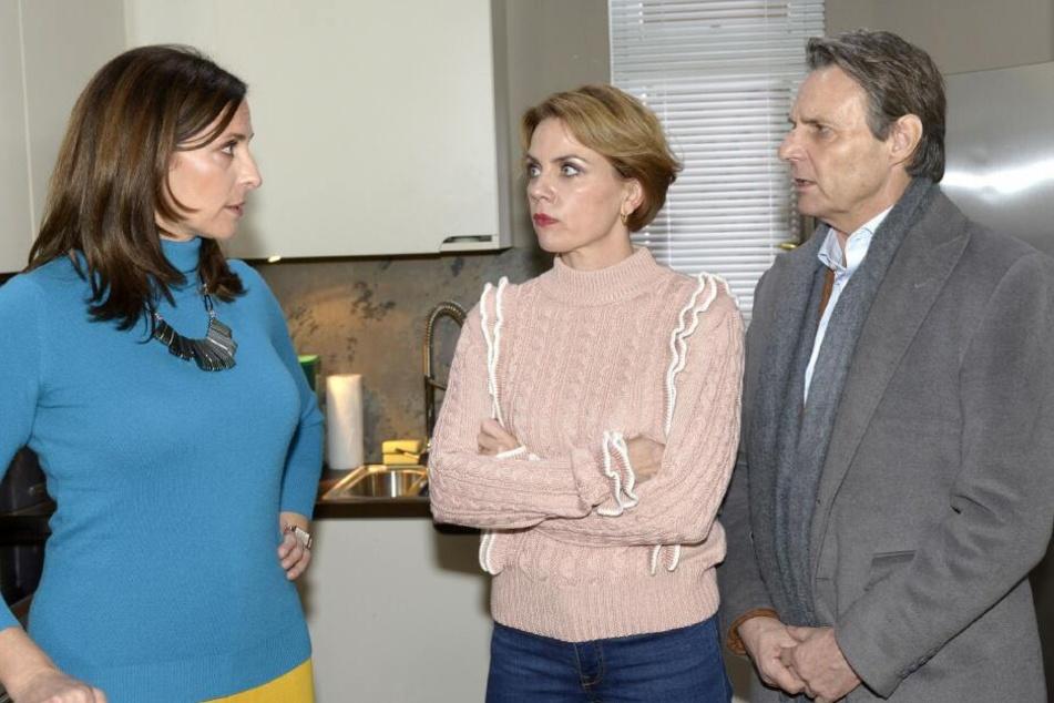 Katrin macht Jo und Yvonne Vorwürfe im Bezug auf Johanna.