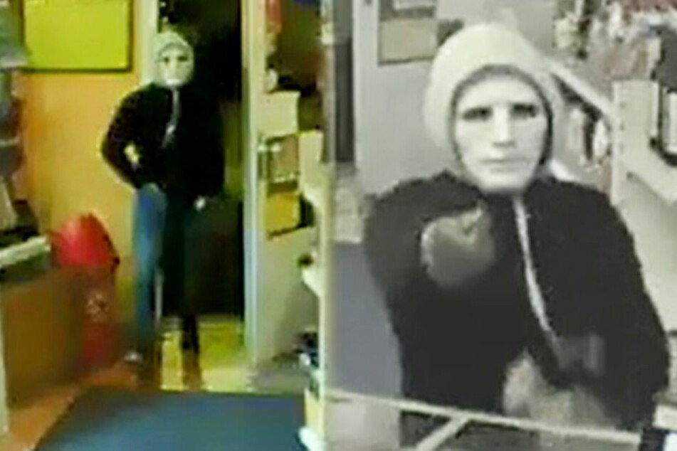 Fahndung: Dieser Mann überfiel Kiosk und stach auf Angestellten ein