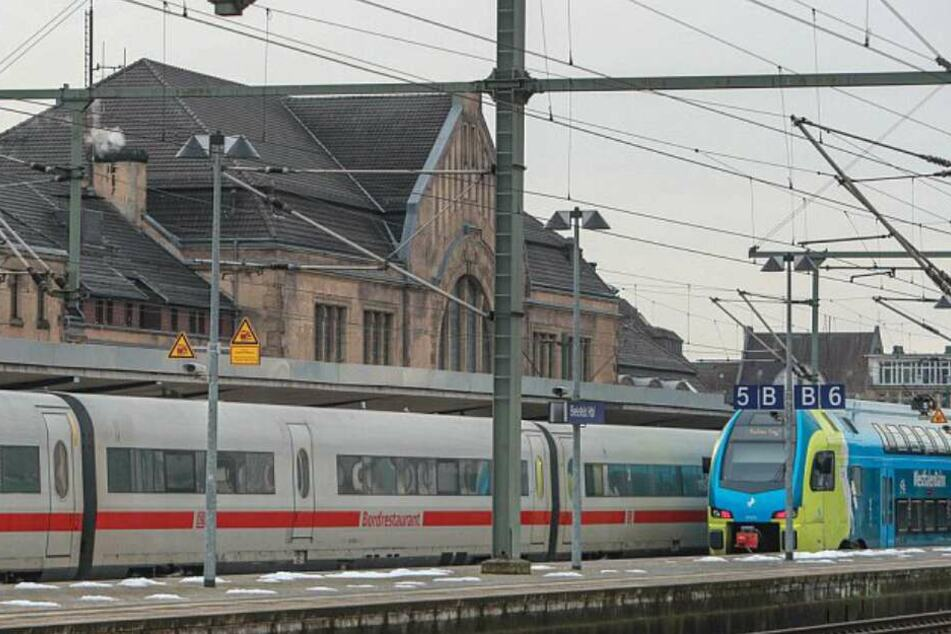 Mehrere Gleise sind am Hauptbahnhof außer Betrieb. (Symbolbild)