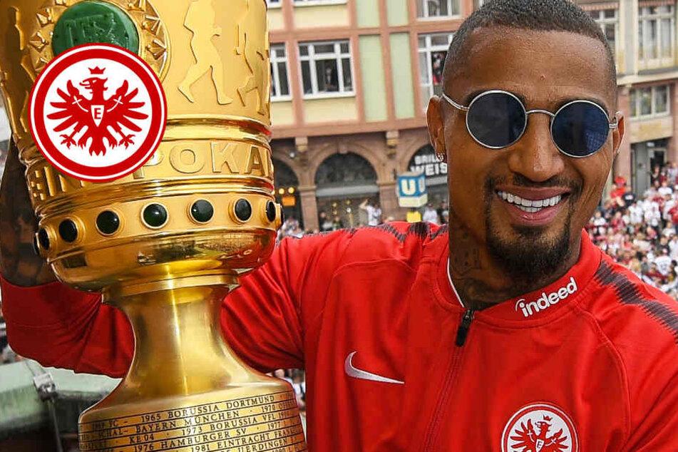 Eintracht-Leader Kevin-Prince Boateng bleibt in Frankfurt