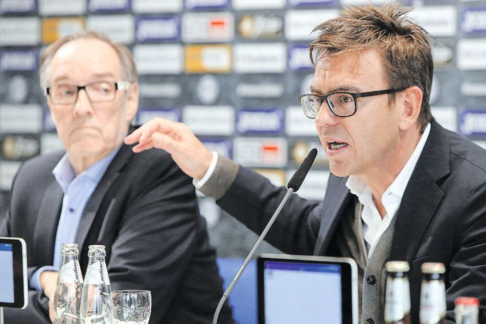 DSC-Geschäftsführer Markus Rejek (re.) wird die Unterlagen fristgerecht nach Frankfurt schicken.