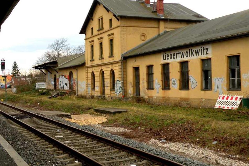 Der Bahnhof in Liebertwolkwitz soll bald ansprechender und sicherer werden.