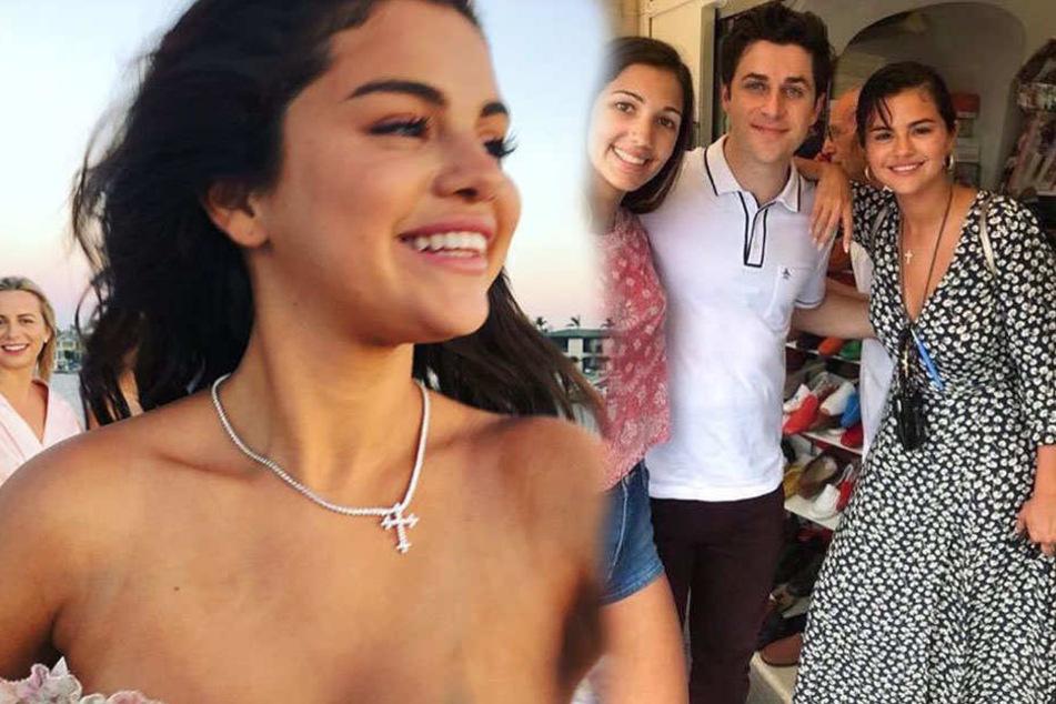 Selena Gomez strahlt im Urlaub in Italien. Vielleicht wegen David Henrie?