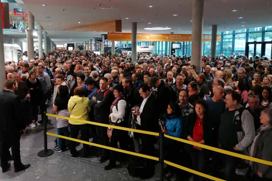 Stuttgart: Was für ein Andrang! Reisemesse CMT vor Besucherrekord
