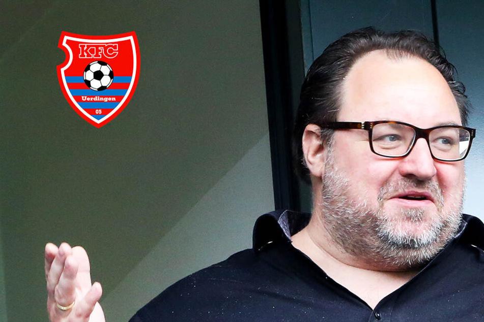 "Eskalation! KFC Uerdingens ""Monster""-Mäzen Ponomarev mit heftigem Wutanfall"