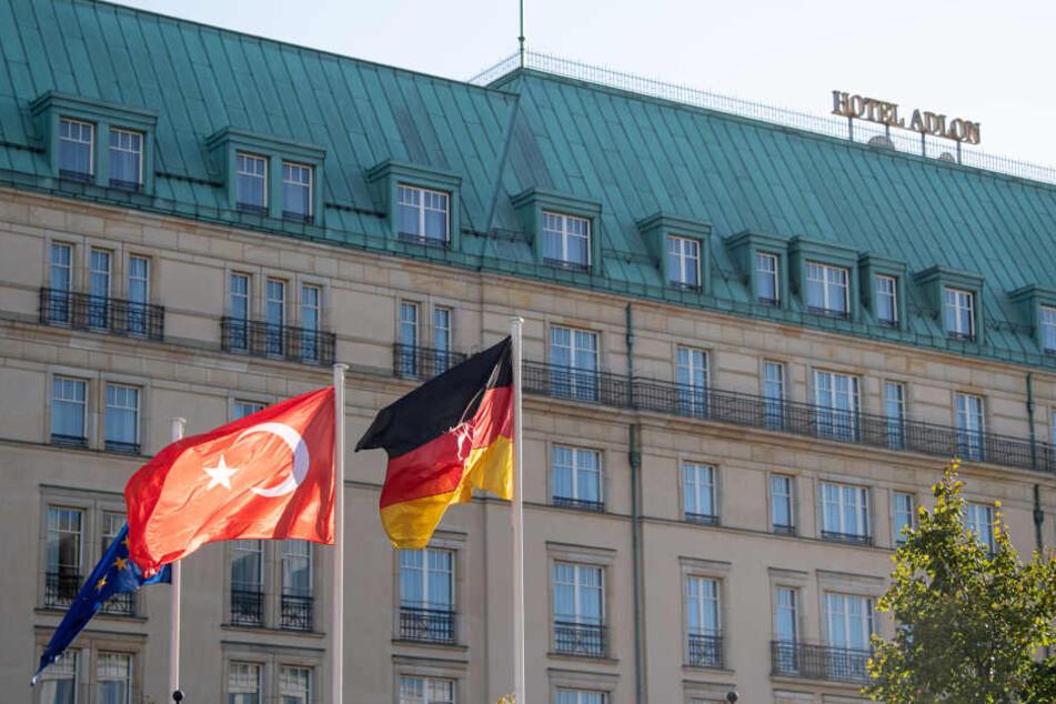 Als der türkische Präsident Recep Tayyip Erdoğan Deutschland besuchte, checkte er im Hotel Adlon ein.