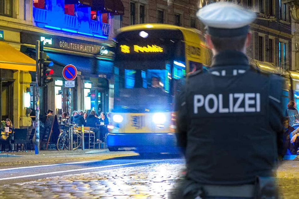 Auf der Kreuzung Rothenburger Straße / Görlitzer Straße wurde ein 24-Jähriger attackiert.