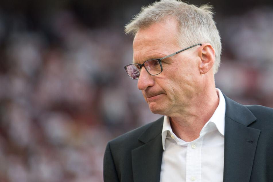 Wurde infolge der sportlichen Talfahrt von VfB-Präsident Wolfgang Dietrich als Sportvorstand entlassen: Michael Reschke.