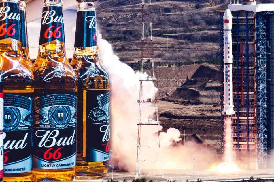Darum wird jetzt massig Alkohol ins Weltall geschossen