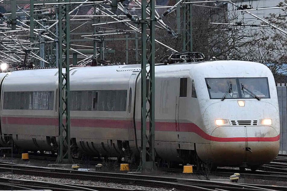 Zwischen Erfurt und Eisenach wird die Bahnstrecke ausgebaut.