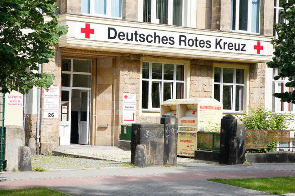 Der DRK-Sitz in Altchemnitz - hier herrschte offenbar viel Chaos.