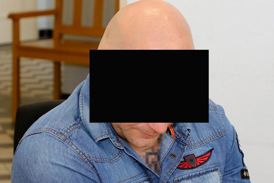 Fabian S. (34) ist Stammgast in sächsischen Gerichten. Am Donnerstag war Termin im Chemnitzer Landgericht.