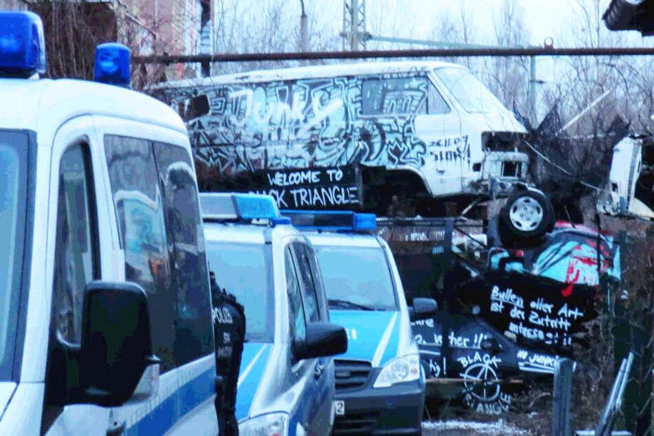 "Am 15. Januar räumte die Polizei das ""Black Triangle""."