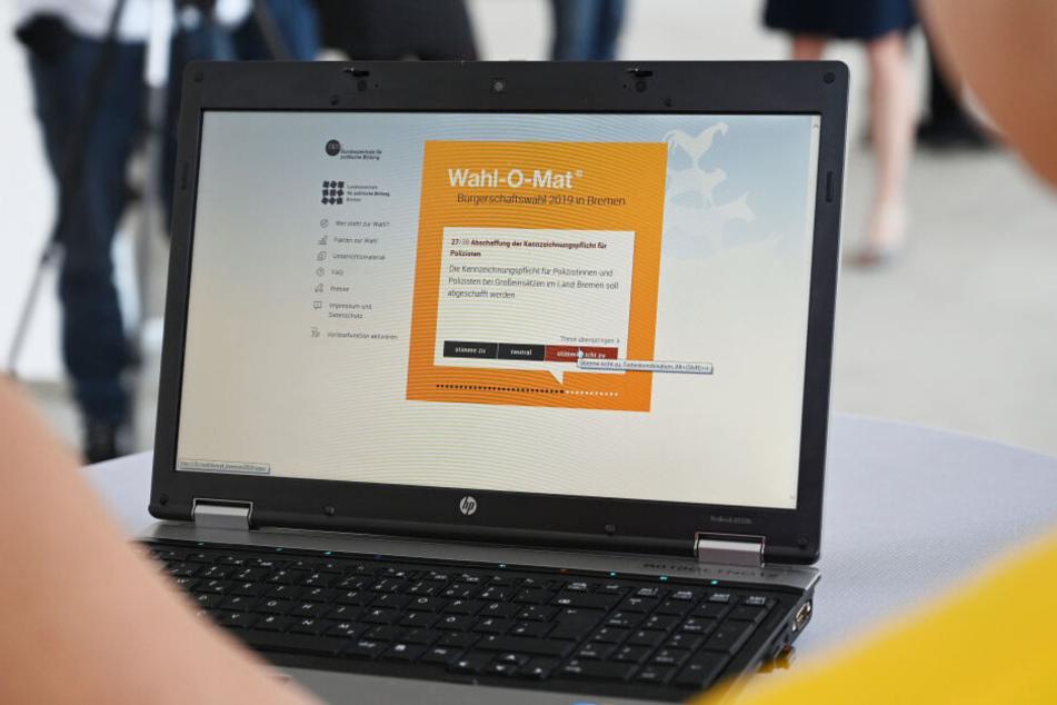 In dem Onlineprogramm können Bürgerinnen und Bürger ihre politischen Ansichten mit den Programmen der Parteien zur Landtagswahl abgleichen, um Hilfe für die Wahlentscheidung zu bekommen.