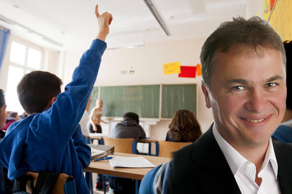Der CDU-Landtagsabgeordnete hakte bei der Staatsregierung nach und deckte so die veralteten Schülerzahlen auf.