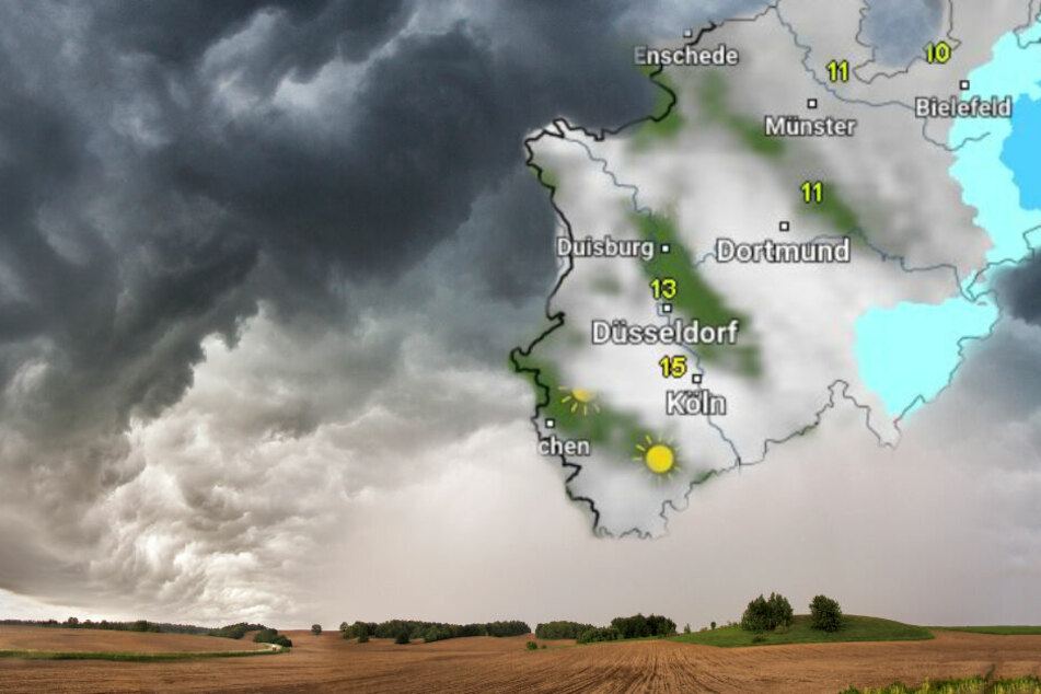 In den nächsten Tagen wird es gewitterig in NRW. (Symbolbild)