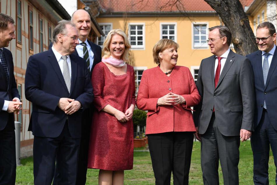 Ramelow begrüßt Angela Merkel in Thüringen und fordert mehr Respekt für Osten
