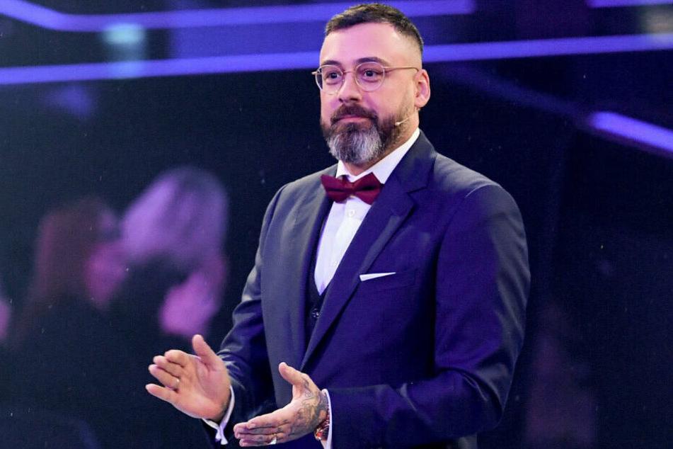 """Sido, Musiker und Coach, steht beim Finale der Castingshow """"The Voice of Germany"""" auf der Bühne. (Archivbild)"""