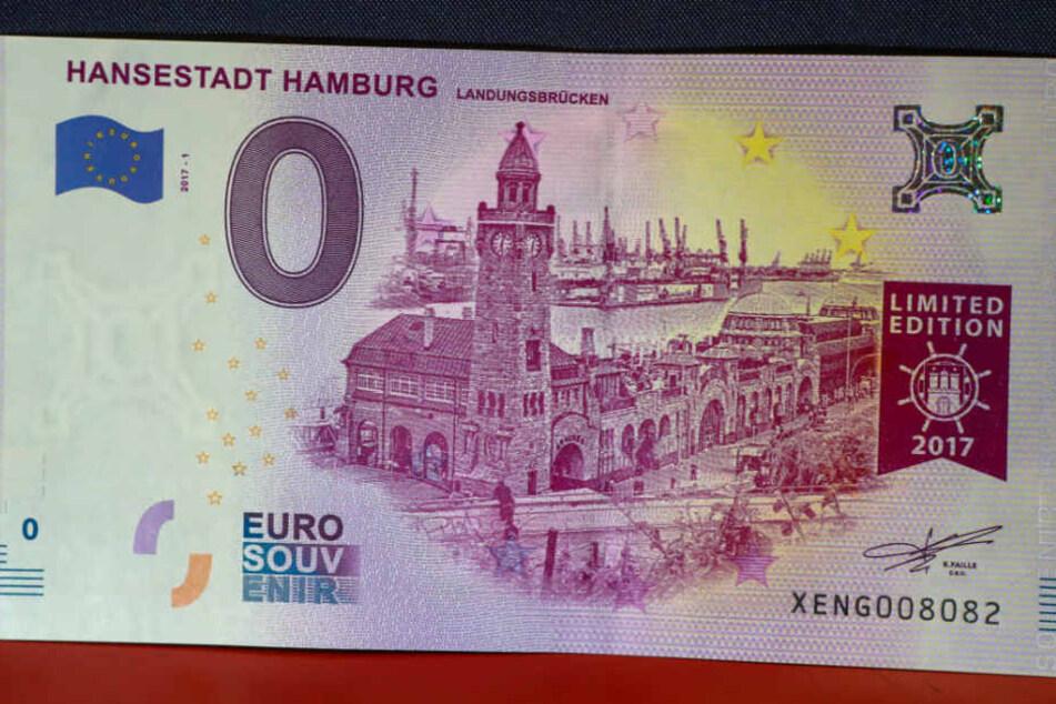 Bereits andere Städte haben einen Null-Euro-Schein.