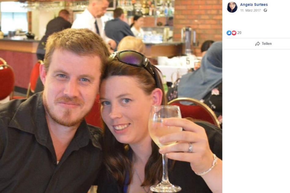 Angela und ihr Ehemann Daniel im Jahr 2017. Hat sie tatsächlich ihren Mann ermordet?