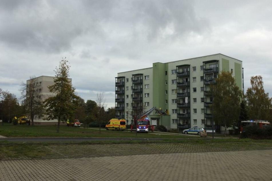 Leipzig: Frau nach Fenstersturz schwer verletzt