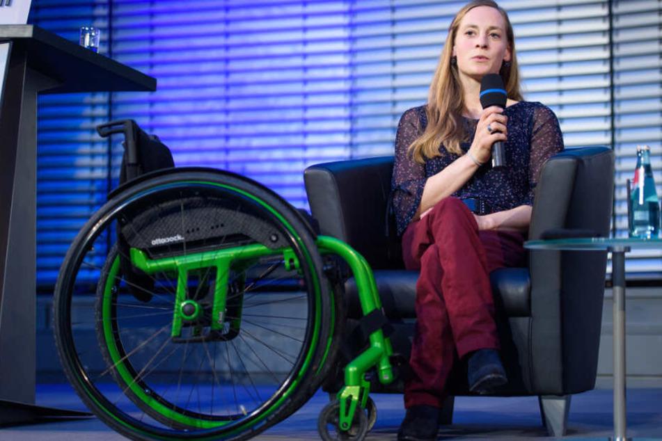 München: Aufzug-Plan gestrichen: Paralympics-Ikone Schaffelhuber im neuen Job ausgebremst