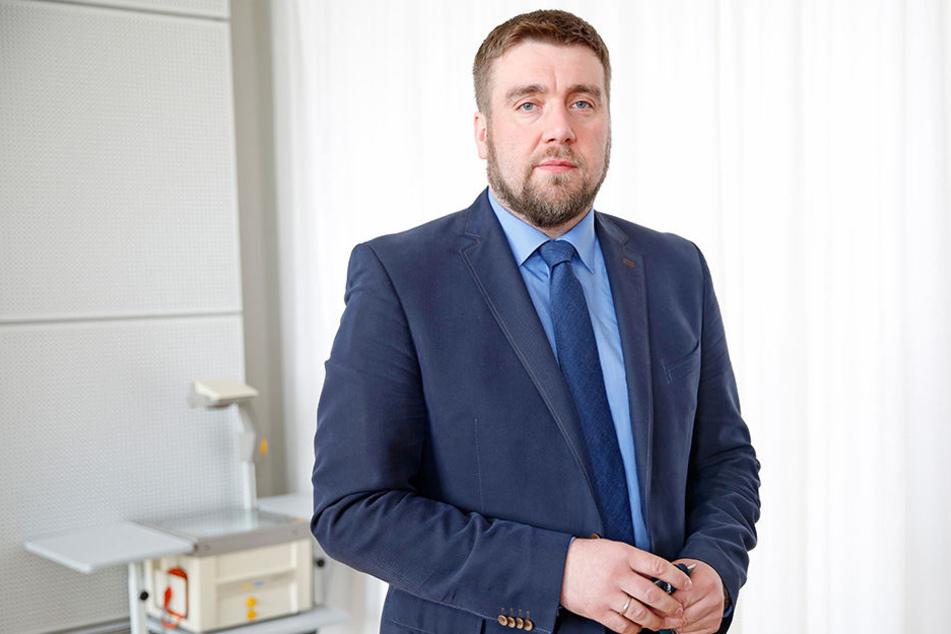 Uwe Wurlitzer (41), Generalsekretäter der Alternative für Deutschland.