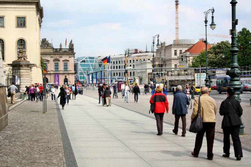 Berlin wird gut besucht.