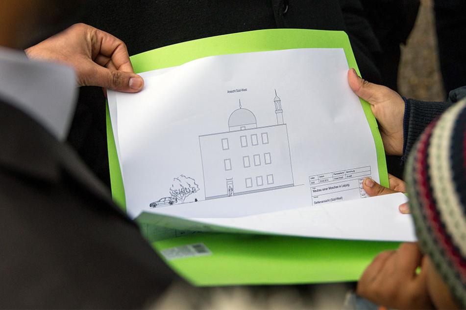 Der geplante Bau der Moschee in Leipzig verzögert sich weiter. Noch ist kein Bauantrag bei der Stadtverwaltung eingereicht worden.