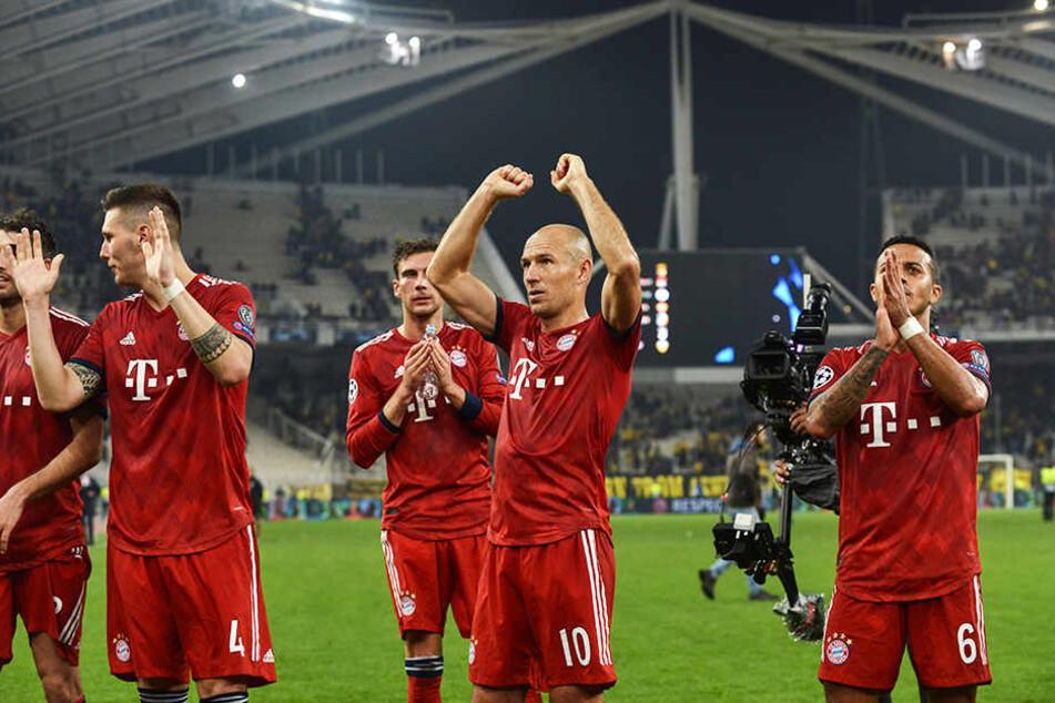 Bald nur noch in einer europäischen Eliteliga zu sehen? Die Spieler des FC Bayern München.