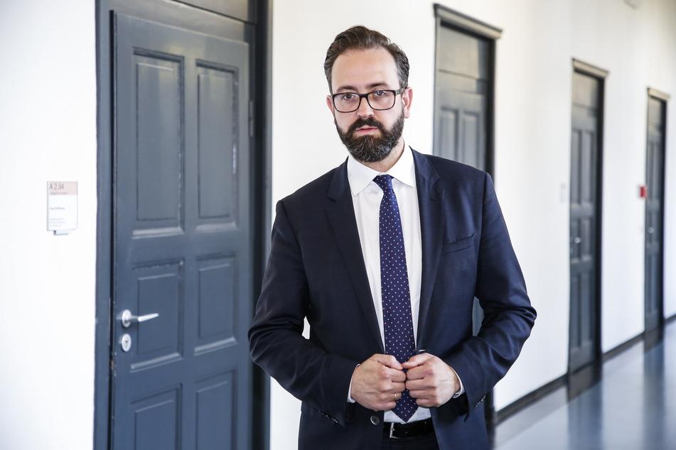Sachsens Wissenschaftsminister Sebastian Gemkow (42, CDU) wehrte sich juristisch gegen einen Anschlag auf seine Wohnung.