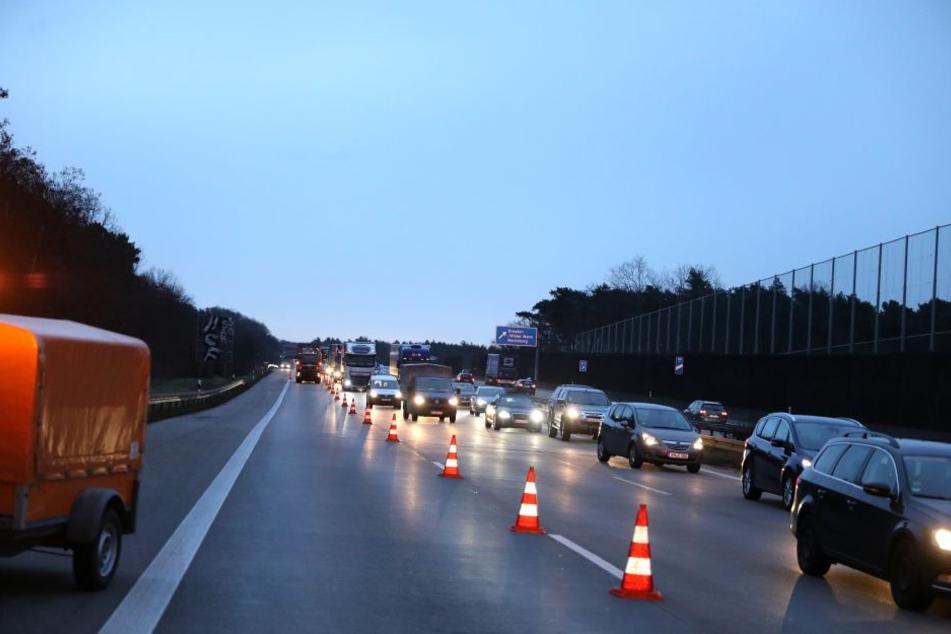 Auf der A4 kam es am Mittwochmorgen zu einem kilometerlangen Stau.